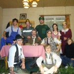 Die Theatergruppe Asbach-Bäumenheim 2007.