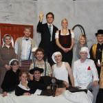 Die Theatergruppe Asbach-Bäumenheim 2011.